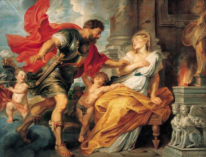 Préférence Peintures, Arès (Mars), Dieu de la Guerre - Mythologie Grecque TL81