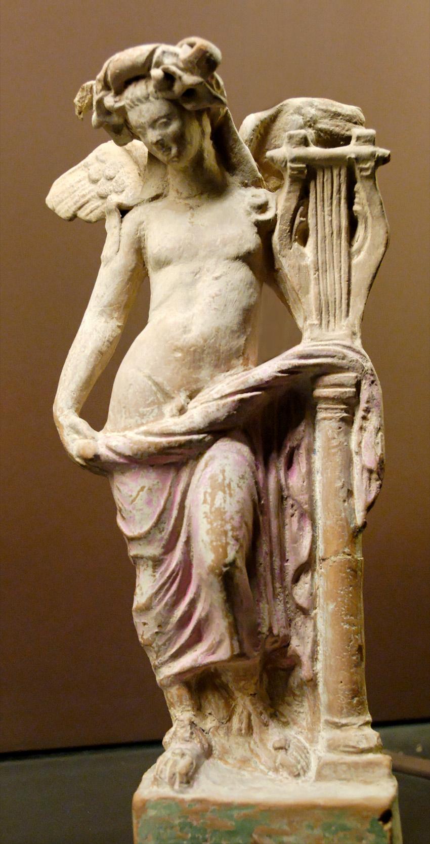 statue of eros sleeping 3rd century jpg 422x640
