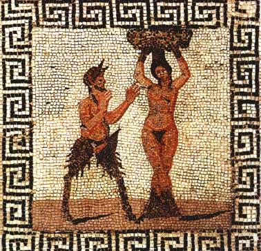Peintures Pan Faune Mythologie Grecque